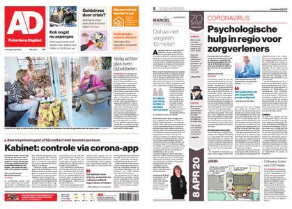 Algemeen Dagblad - Waterweg – 08 april 2020