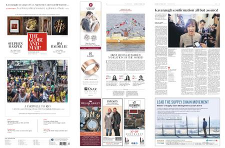 The Globe and Mail – October 06, 2018