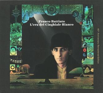 Franco Battiato - L'era del cinghiale bianco (2019) {40th Anniversary Remastered Edition, Universal 060257795600 rec 1979}