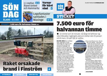 Ålandstidningen – 23 februari 2020