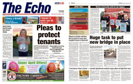 Evening Echo – April 02, 2019