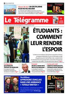 Le Télégramme Quimper – 26 janvier 2021