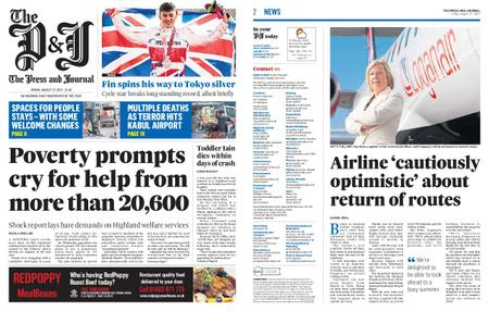 The Press and Journal Moray – August 27, 2021