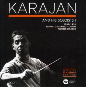 Herbert Von Karajan - Karajan and His Soloists, Vol. 1 1948-1958 (2014) (8 CDs Box Set)