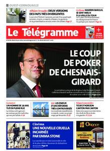 Le Télégramme Ouest Cornouaille – 22 juin 2021