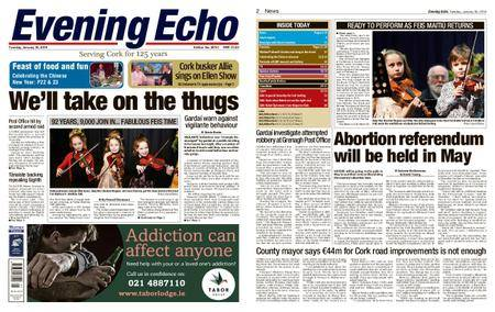 Evening Echo – January 30, 2018
