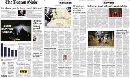 The Boston Globe – January 03, 2020