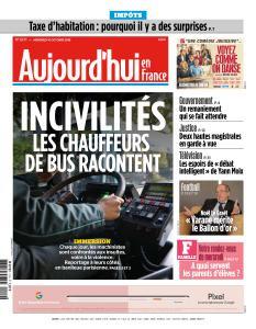 Aujourd'hui en France du Mercredi 10 Octobre 2018