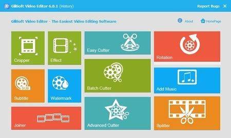 GiliSoft Video Editor 8.1.0 DC 09.12.2017 Multilingual Portable