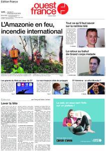 Ouest-France Édition France – 24 août 2019
