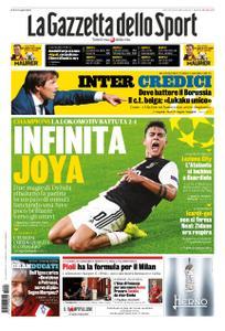 La Gazzetta dello Sport Roma – 23 ottobre 2019