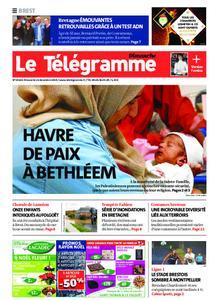 Le Télégramme Brest Abers Iroise – 22 décembre 2019