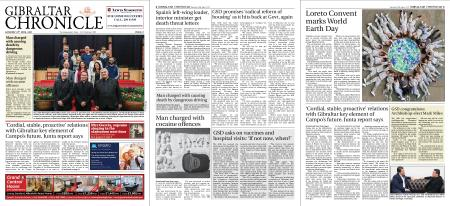 Gibraltar Chronicle – 24 April 2021