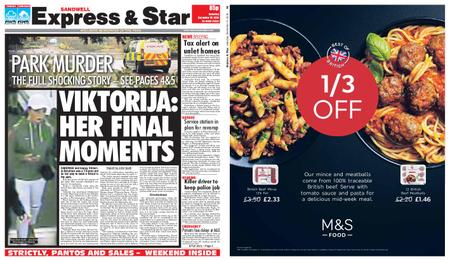 Express and Star Sandwell Edition – December 15, 2018