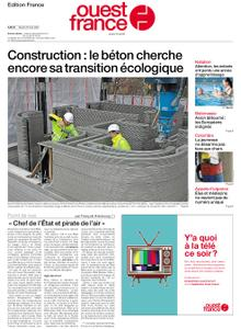 Ouest-France Édition France – 25 mai 2021