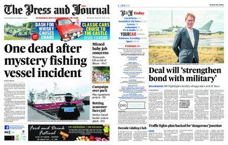 The Press and Journal Moray – August 15, 2018