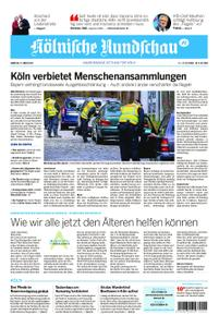 Kölnische Rundschau Wipperfürth/Lindlar – 21. März 2020