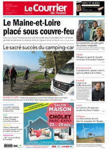 Le Courrier de l'Ouest Cholet – 23 octobre 2020