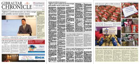 Gibraltar Chronicle – 29 December 2020