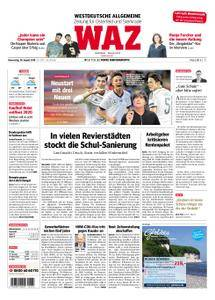 WAZ Westdeutsche Allgemeine Zeitung Oberhausen-Sterkrade - 30. August 2018