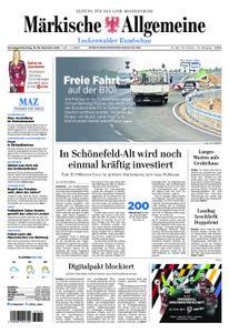 Märkische Allgemeine Luckenwalder Rundschau - 15. Dezember 2018