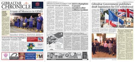 Gibraltar Chronicle – 14 January 2020
