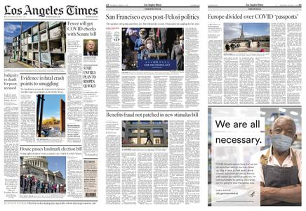 Los Angeles Times – March 04, 2021
