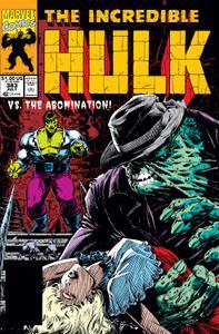 Incredible Hulk 383 1991b