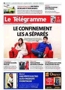 Le Télégramme Brest Abers Iroise – 23 juin 2020