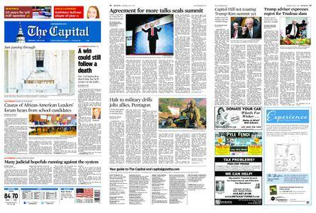 The Capital – June 13, 2018