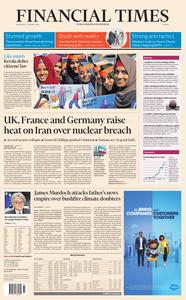 Financial Times Europe – 15 January 2020