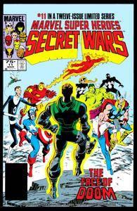 Captain America v1 292l Marvel Super Heroes Secret Wars 11