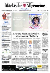 Märkische Allgemeine Fläming Echo - 26. August 2017