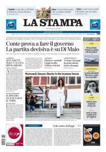 La Stampa Torino Provincia e Canavese - 28 Agosto 2019