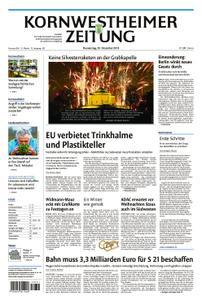 Kornwestheimer Zeitung - 20. Dezember 2018