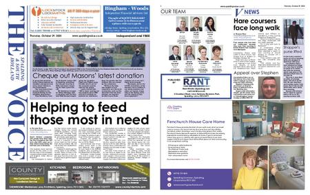 The Spalding & South Holland Voice – October 28, 2020