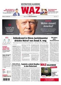 WAZ Westdeutsche Allgemeine Zeitung Oberhausen-Sterkrade - 06. November 2018