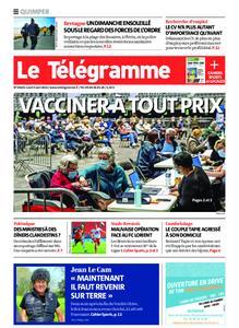 Le Télégramme Quimper – 05 avril 2021