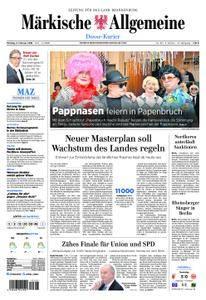 Märkische Allgemeine Dosse Kurier - 05. Februar 2018