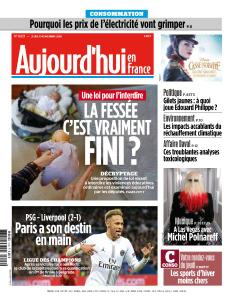 Aujourd'hui en France du Jeudi 29 Novembre 2018