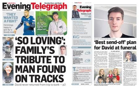 Evening Telegraph First Edition – October 28, 2019