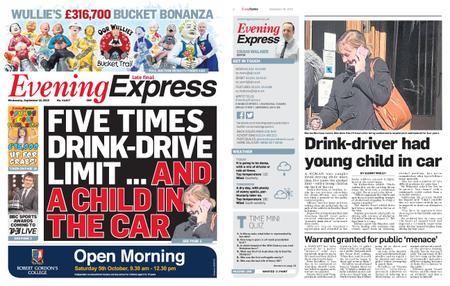 Evening Express – September 18, 2019