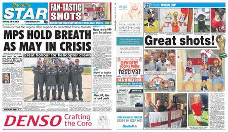 Shropshire Star Shrewsbury Edition – July 10, 2018