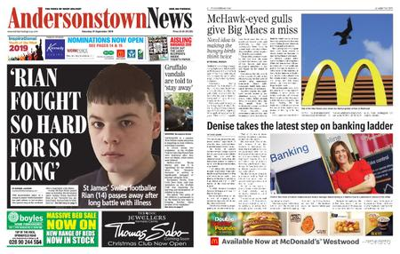 Andersonstown News – September 21, 2019