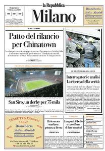 la Repubblica Milano - 9 Febbraio 2020