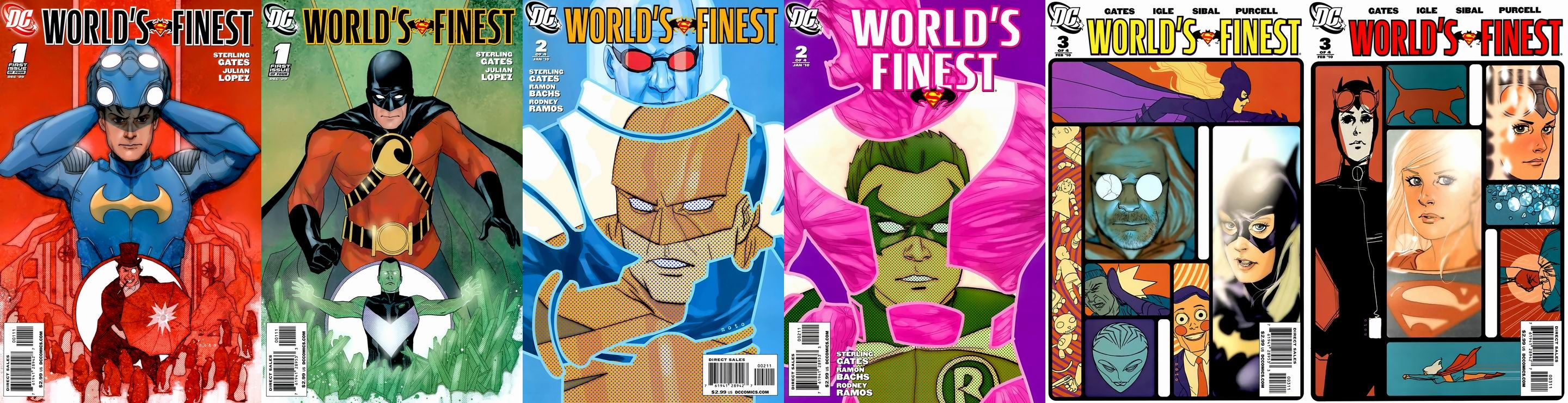 World's Finest #1-3 (Of 4) Update