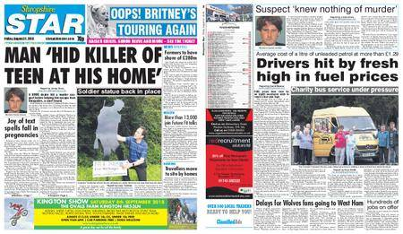 Shropshire Star Shrewsbury Edition – August 31, 2018