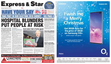 Express and Star City Edition – November 18, 2019