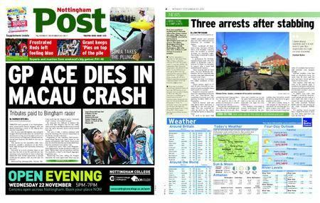 Nottingham Post – November 20, 2017
