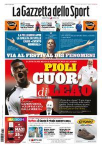La Gazzetta dello Sport – 10 ottobre 2019